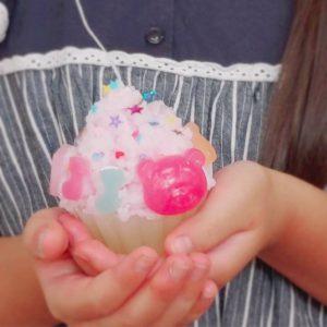 【夏休み子ども講座】カップケーキキャンドルづくり